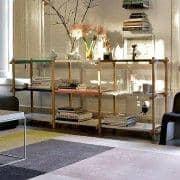 WOODY System Prateleiras - criado no espírito do modernismo, HAY - deco e design