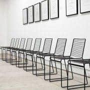 HEE Chair por HAY é leve, resistente e empilhável - uma bela escolha de cores