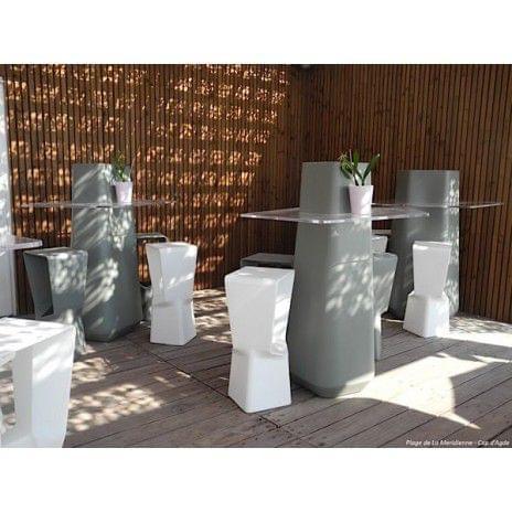 Le tabouret haut KENNY : beau et malin ! - indoor et outdoor - déco et design