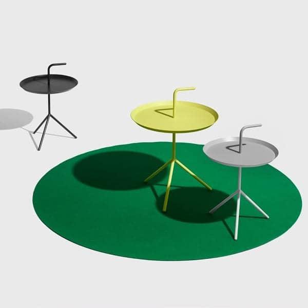 DLM, l'idea alla base di questo tavolino nella sua XL versione è ovvio - mi porti avanti! HAY - deco e del design