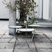 DLM, the idea behind this side table in its XL Version is obvious – bring me along! HAY