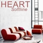 HEART ספה נדיבה עם heart SOFTLINE - דקו ועיצוב, SOFTLINE