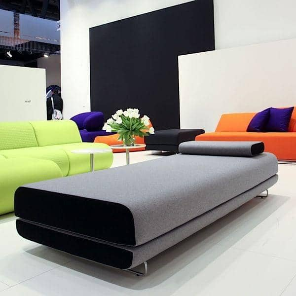 SHINE dag seng, en svært komfortabel og stilig sovesofa. Cushion inkludert - deco og design, SOFTLINE