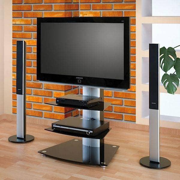 Meuble Tv Design Noir Avec Support Plasma Cosy : Pin meuble tv plasma ...