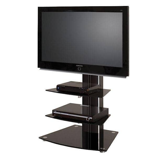 ... PLASMA TV mobili - arredamento e design - ALLADYN 2: Nero + vetro nero
