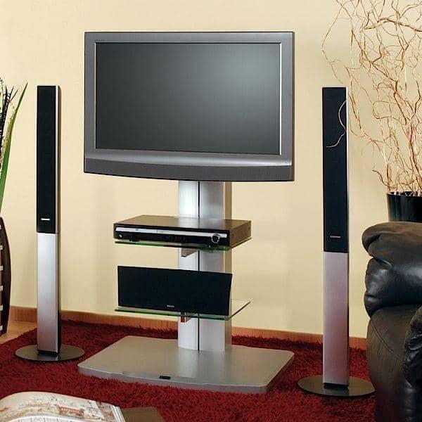 ... LCD PLASMA a parete - decorazione e design - ALLADYN: Argento, vetro