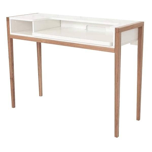 Bureau Design Bois Et Blanc : Farringdon Laptop Desk