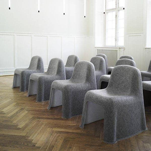 NOBODY, matcher denne stolen frisk design og øko-produksjon, HAY - deco og design
