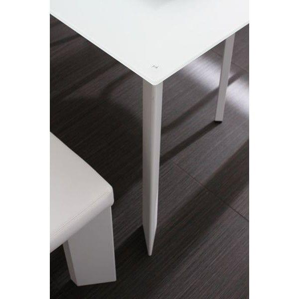 Largo tavolo pranzo vassoio cristallo temperato matelux vetro struttura alluminio verniciato.jpg