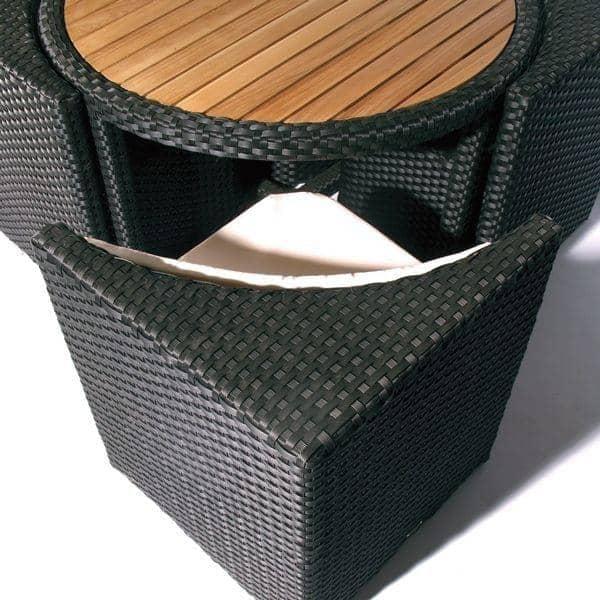 mobiliario de jardim em resina:PROXIMITY mobiliário de jardim: resina trançado, resistente aos
