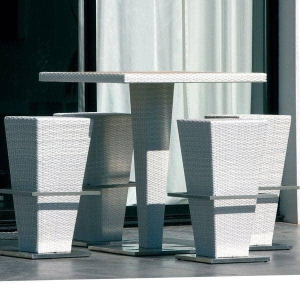 Ensemble table haute et tabourets compact hi structure - Ensemble table haute et tabouret ...