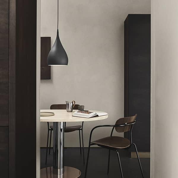 SPINNING LIGHT kollektion designet af Benjamin Hubert: sexet design med et rent nordisk udseende, AND TRADITION