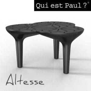 ALTESSE coffee table edited by Qui est Paul : deco and design made in France - Altesse: Dark Grey