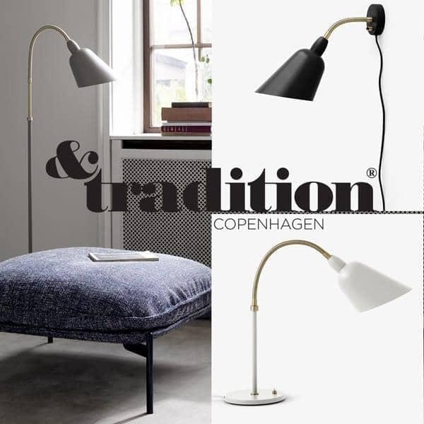 Collezione Bellevue Lampada Da Parete Lampada Da Tavolo And Lampada Da Terra And Tradition