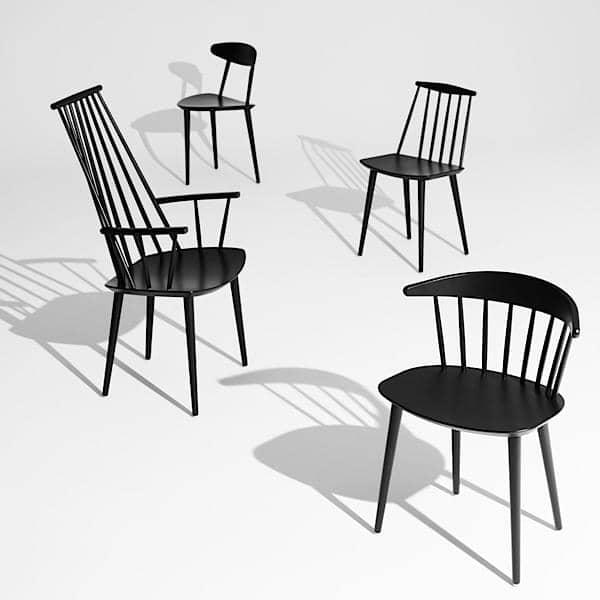 Il J77 Chair, HAY : un assaggio di vintage, grande confort, design nordico