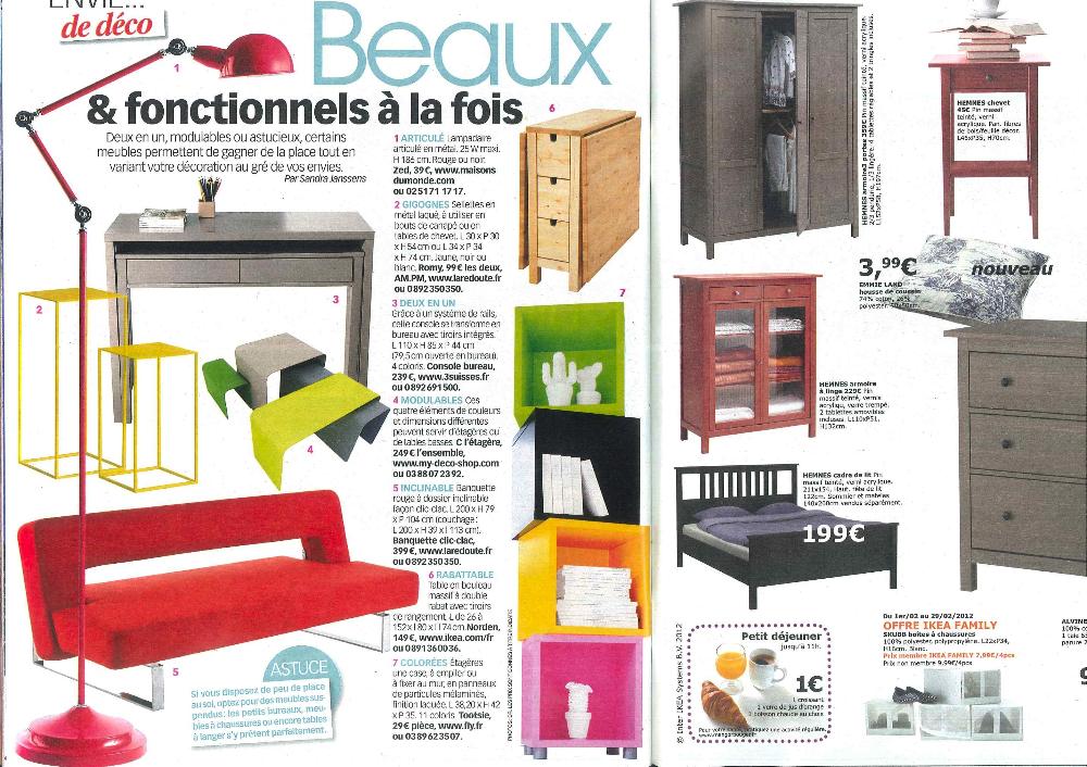 echos presse et blogs my deco shop le blog. Black Bedroom Furniture Sets. Home Design Ideas