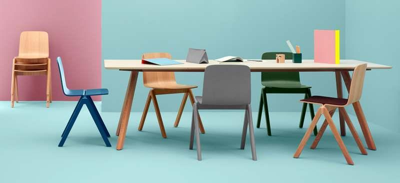 les chaises copenhague par hay my deco shop le blog. Black Bedroom Furniture Sets. Home Design Ideas