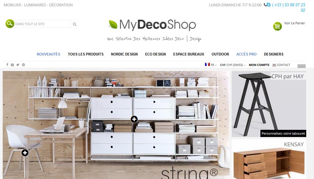my deco shop un nouveau design de nouvelles fonctionnalit s my deco shop le blog. Black Bedroom Furniture Sets. Home Design Ideas
