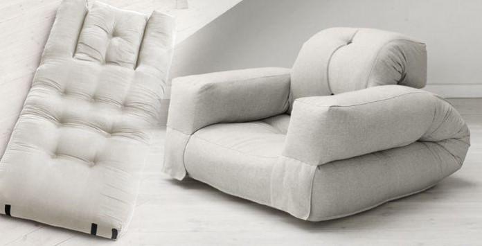 hippo le fauteuil futon convertible en lit d 39 appoint my deco shop le blog. Black Bedroom Furniture Sets. Home Design Ideas
