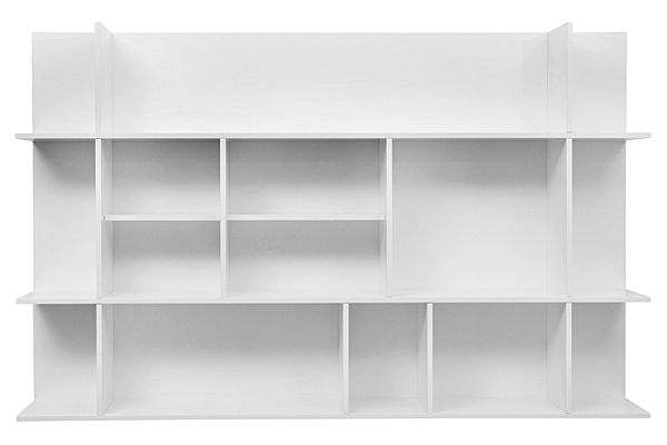 PANORAMA shelf, MDF, lacquered matt