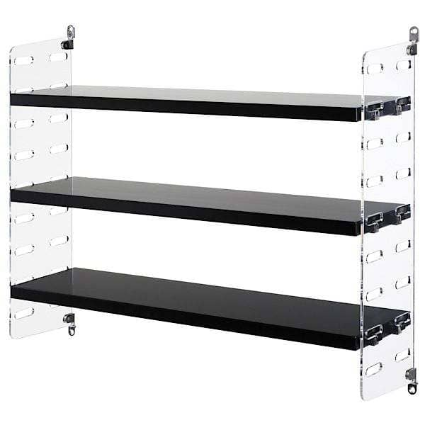 STRING PLEX POCKET modular shelving system, the original version, manufactured in sweden