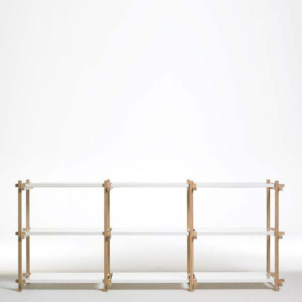 WOODY Shelving System - created in the spirit of modernism