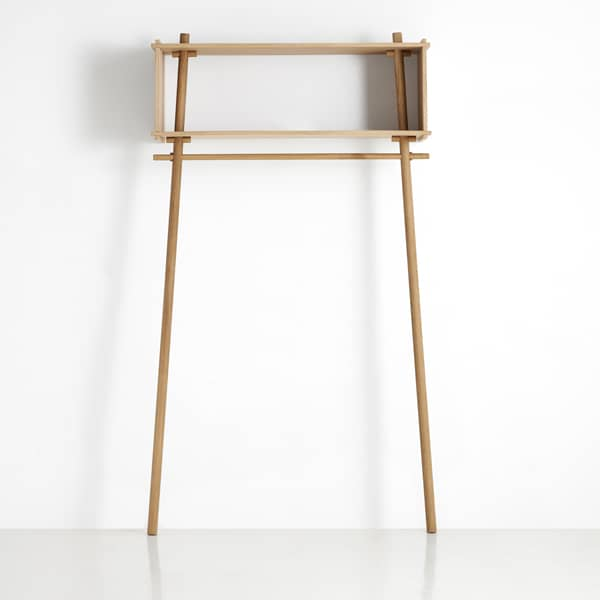 TÖJBOX, more than a coat rack, a perfect piece of furniture that amazes. Eco design