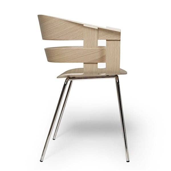 The WICK chair, high level Swedish design