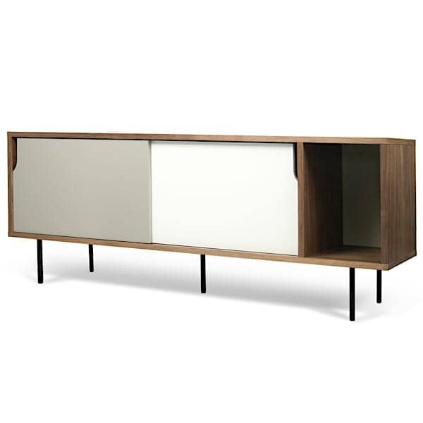 DANN, sideboards with sliding doors, with or without drawers