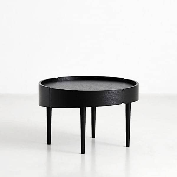 SKIRT coffee table in wood: Finnish design, a beautiful use of the materials.