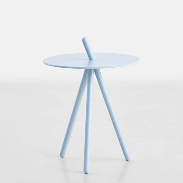 Side table COME HERE: solid wood, very soft finishes