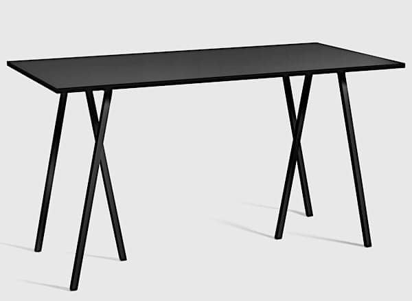 The LOOP Stand High dining table is beautiful, easy to live and affordable