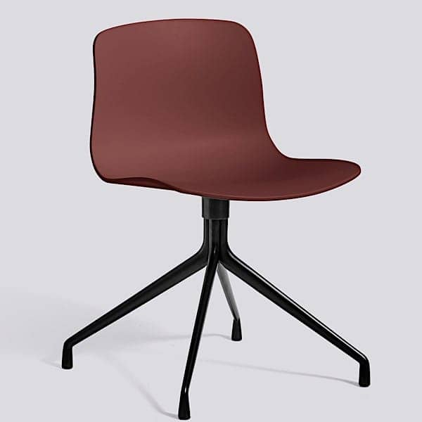 ABOUT A CHAIR - ref. AAC10 and AAC10 DUO - Polypropylene shell, aluminium legs