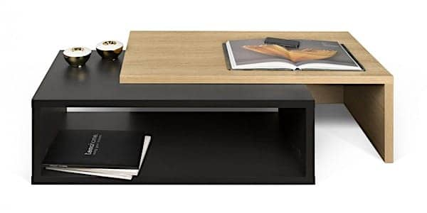 JAZZ, coffee table : Open or closed, it had its effect ! Designed by RICARDO MARÇAL