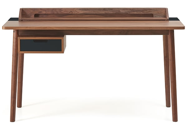 Honoré desk by Hartô, oak veneer and solid oak