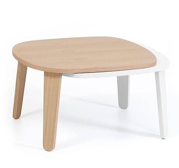 Extendable coffee table Colette by Hartô, oak veneer