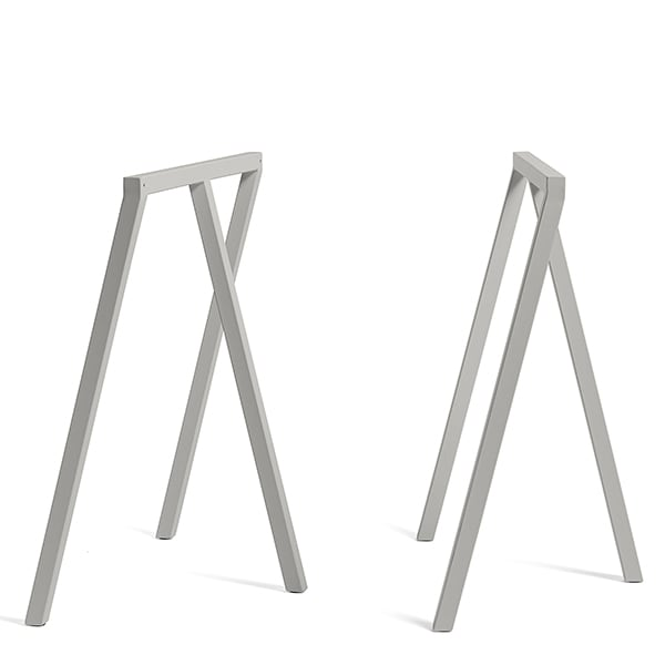 LOOP stand frame, HAY: beautiful, easy to live and affordable - 2 heights are available
