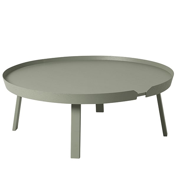 The AROUND salongbord, kampen med massivt tre og design. Muuto