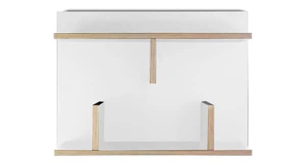 BERN, 60 cm or 90 cm. Enjoy the simple lines and the softness of these shelves - designed by NÁDIA SOARES