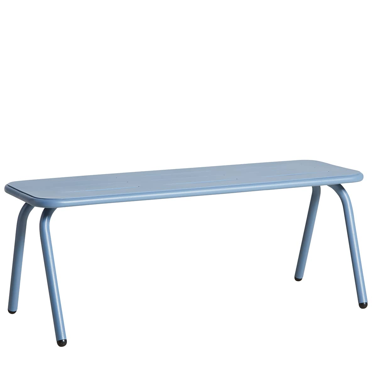 RAY outdoor bench, design and resistant, by WOUD