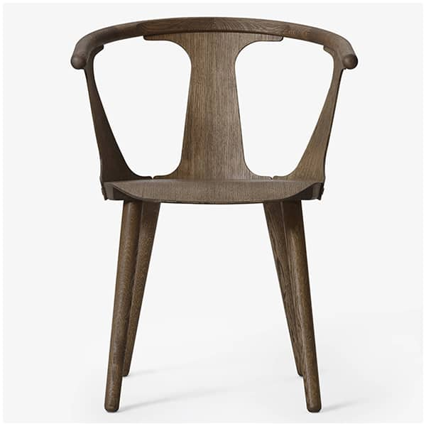 Collection of wooden chairs IN BETWEEN (SK1 and SK2), optional padded seat, by &TRADITION