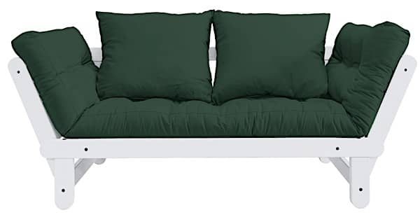 BEAT is a two seater sofa bed which can be transformed in bed or chaise longue, either side of the sofa - deco and design