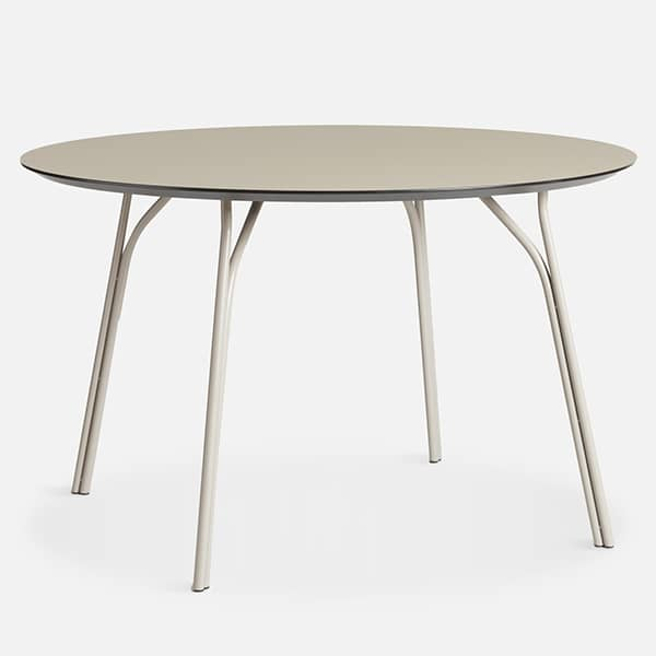TREE dining table, 3 dimensions, natural symbolism, lightness and roundness.