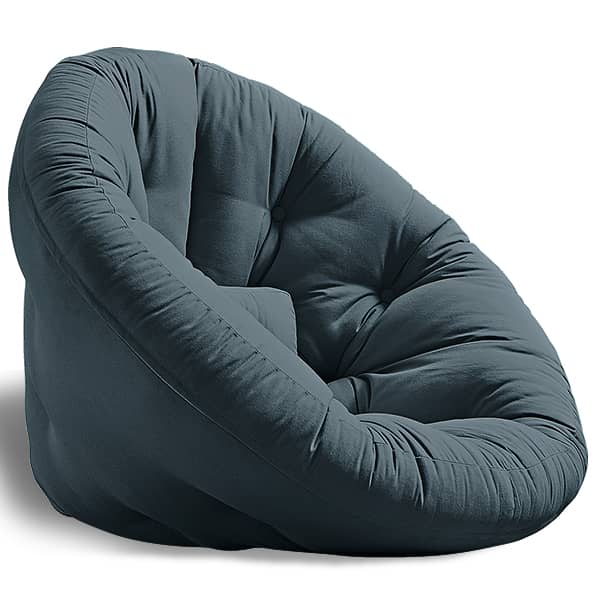 NEST, lounge Chair the day, Futon at night: NEST is cosy, practical and so comfortable