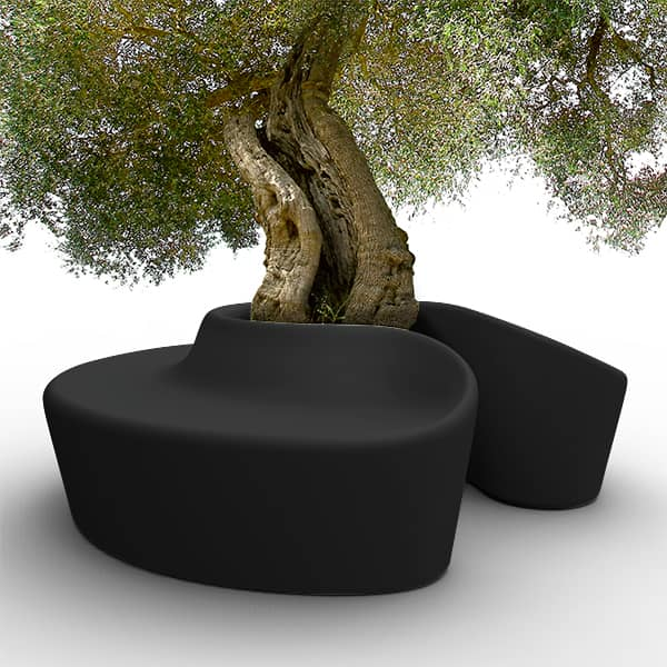 SARDANA Bench: light up your outdoor spaces with this spectacular bench! generous and ultra-resistant