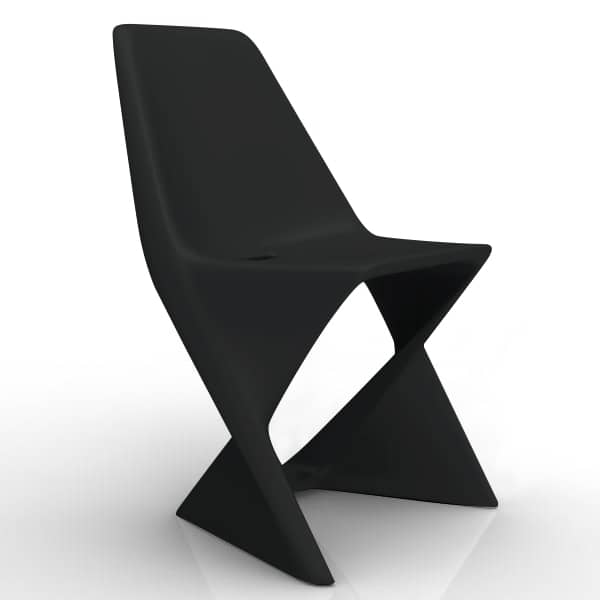 ISO CHAIR, elegant and stackable - ecofriendly
