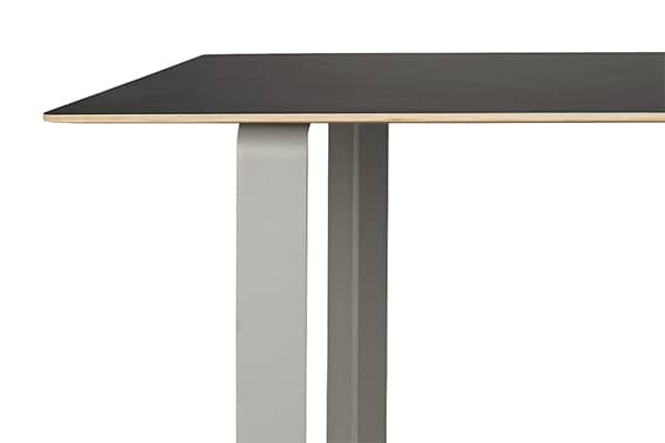 70/70, aluminum table, design and functional