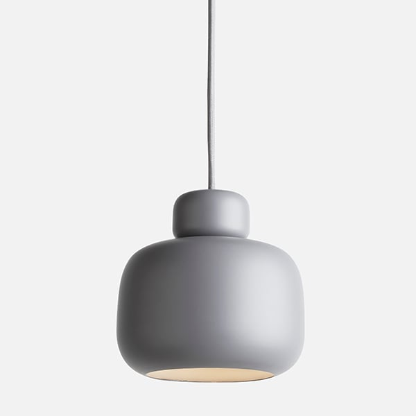 STONE, lampe suspension en métal