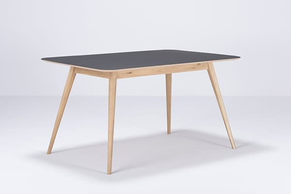 STAFA, elegant and refined solid oak table, by GAZZDA