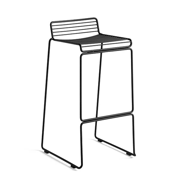 HEE Barstool by HAY fits indoor and outdoor